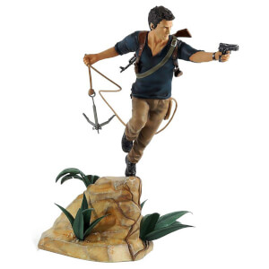 "Uncharted 4 A Thief's End ""Nathan Drake"" PVC Statue 30cm"