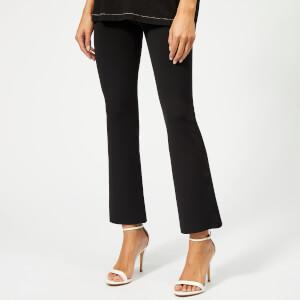 Helmut Lang Women's Flare Scuba Pants - Black