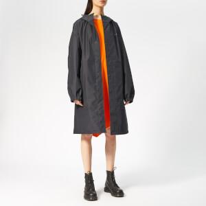 Helmut Lang Women's Hooded Raincoat - Black