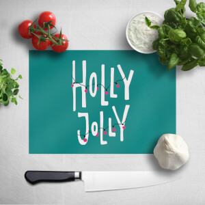 Holly Jolly Chopping Board