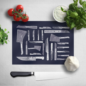 Knifes Chopping Board