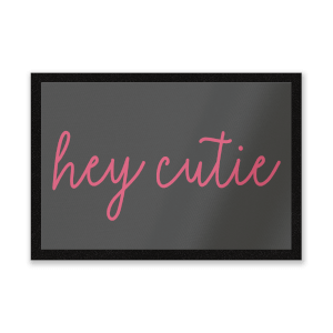 Hey Cutie Entrance Mat