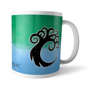 Magic The Gathering GOR Fractal Simic Mug