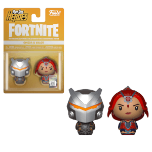 Funko Fortnite Pint Size Heroes Omega and Valor 2-Pack