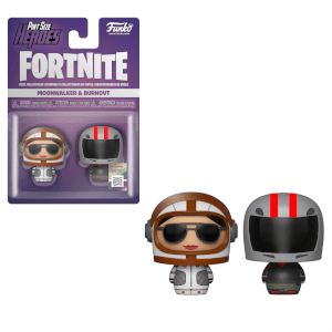 Funko Fortnite Pint Size Heroes Moonwalker and Burnout 2-Pack