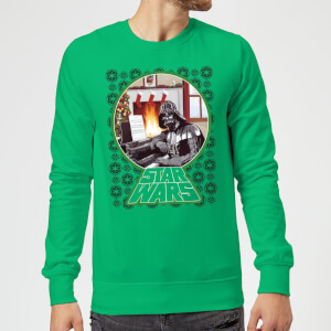 Star Wars A Very Merry Sithmas Pullover - Grün