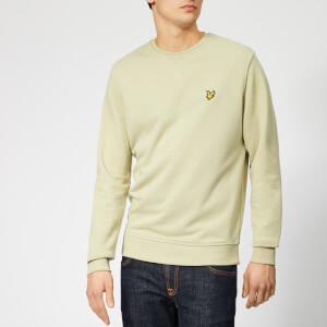 Lyle & Scott Men's Crew Neck Sweatshirt - Green Stone