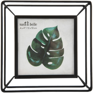 Sass & Belle Square Metal Photo Frame