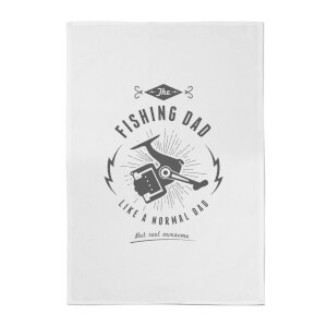 Fishing Dad Cotton Tea Towel