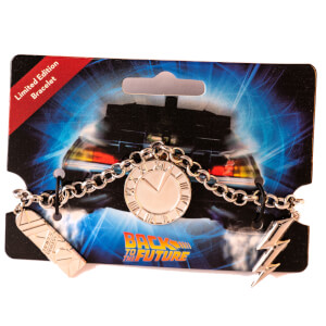 Back To The Future Limited Edition Charm Bracelet