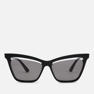 McQ Alexander McQueen Women's Cat-Eye Sunglasses - Black
