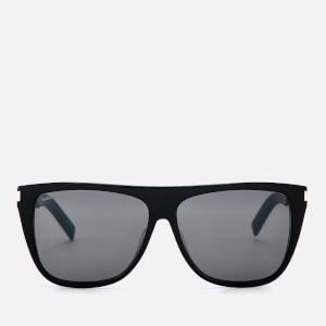 Saint Laurent Visor Style Sunglasses - Black