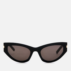 Saint Laurent Women's Small Cat-Eye Sunglasses - Black