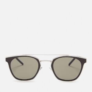 Saint Laurent Aviator Style Sunglasses - Silver