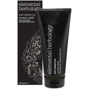 Elemental Herbology Coconut Shell Cream Body Scrub kremowy peeling do ciała