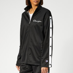 Champion Women's Full Zip Top - Black