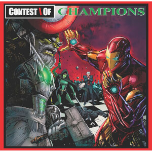 GZA - Liquid Swords (Marvel Hip-Hop Variant Cover - Contest Of Champions) - Deluxe Edition 2xLP