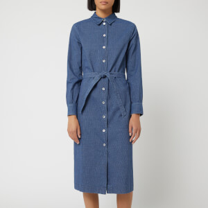 A.P.C. Women's Karen Dress - Denim