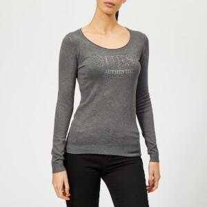 Guess Women's Long Sleeve Emily Jumper - Medium Charcoal
