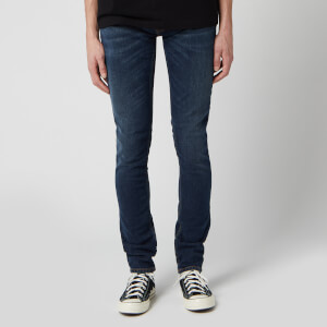 Nudie Jeans Men's Skinny Lin Jeans - West Coast Worn
