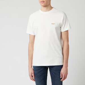 Nudie Jeans Men's Daniel Logo T-Shirt - Off White