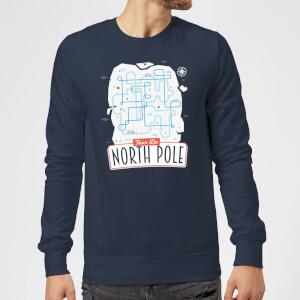Christmas Sweatshirt - Navy