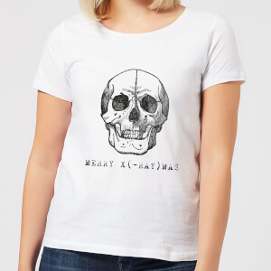 Merry X(-Ray) Mas Women's Christmas T-Shirt - White