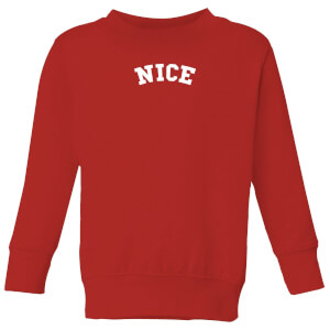 Nice Kids' Christmas Sweatshirt - Red