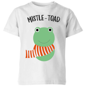 Mistle-Toad Kids' Christmas T-Shirt - White