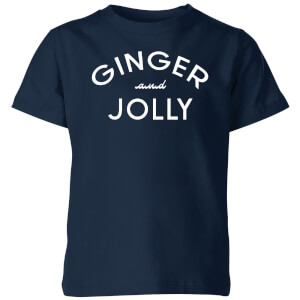 Ginger and Jolly Kids' Christmas T-Shirt - Navy