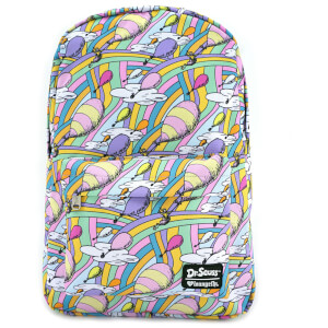 Loungefly Dr. Seuss The Places You'll Go Nylon Backpack