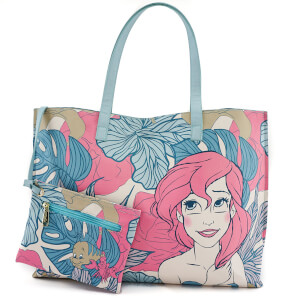 Loungefly Disney The Little Mermaid Ariel Leaves Tote Bag