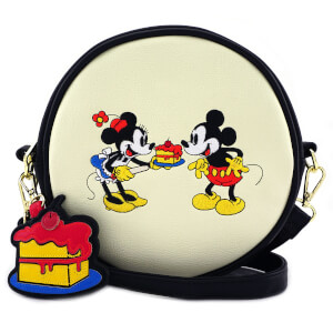 Sac en bandoulière Mickey Mouse et Minnie Disney Loungefly