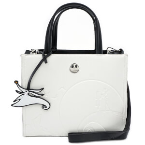 Loungefly Disney The Nightmare Before Christmas Debossed Satchel