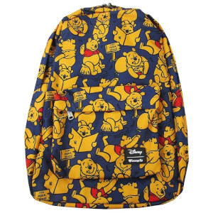 Loungefly Disney Winnie the Pooh Aop Nylon Backpack