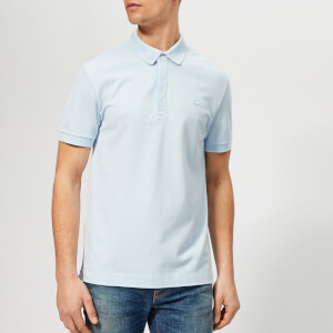 Lacoste Men's Short Sleeve Paris Polo Shirt - Sky