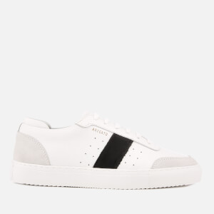 Axel Arigato Men's Dunk Leather Trainers - White/Black