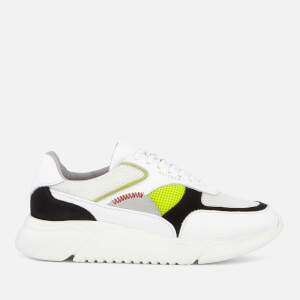 Axel Arigato Women's Genesis Runner Style Trainers - White/Black/Yellow