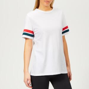 LNDR Women's Stripe Short Sleeve T-Shirt - White
