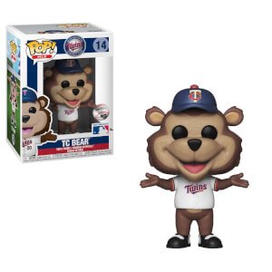 MLB Twins T.C Bear Pop! Vinyl Figure