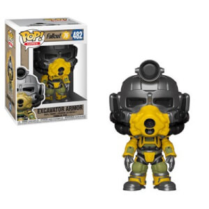 Fallout 76 - Excavator Power Armor Games Funko Pop! Figuur