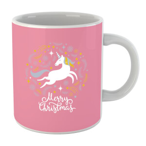 Unicorn Christmas Body Mug