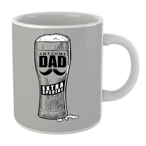 Awesome Dad Beer Glass Mug