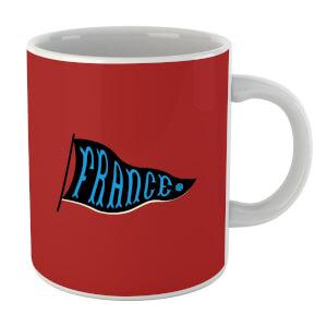 France Pennant Mug