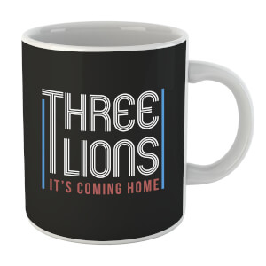 Three Lions Its Coming Home Mug