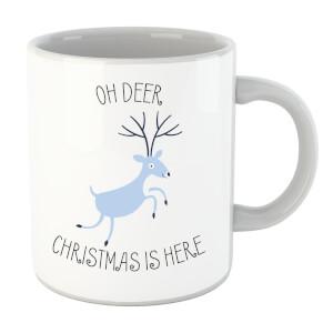 Oh Deer Christmas Is Here Mug