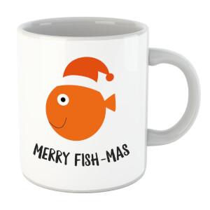 Merry Fish-Mas Mug