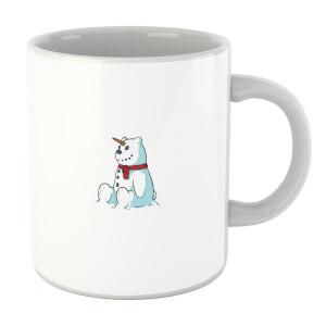 Unicorn Snowman Mug