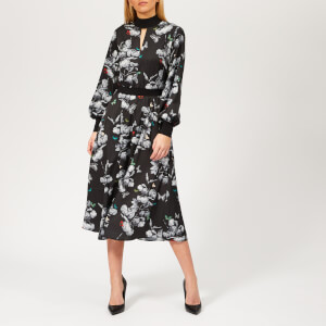 Ted Baker Women's Eynah Narrnia Midi Dress - Black