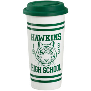 Stranger Things (Hawkins High School) Travel Mug - Green